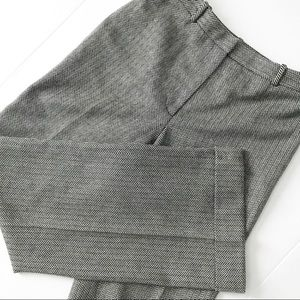 Ann Taylor Herringbone Dress Slacks